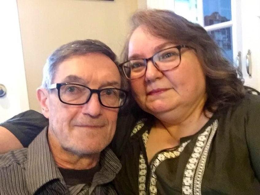 Just three months after Darrell Yetman married Patricia Collins Yetman, he was diagnosed with prostate cancer. Her support was key in his recovery.