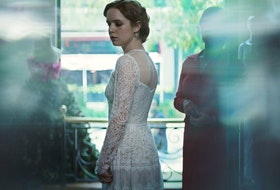 Naian Gonzalez Norvind stars as a well-meaning bride in New Order.