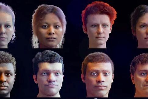 Digital humans. —