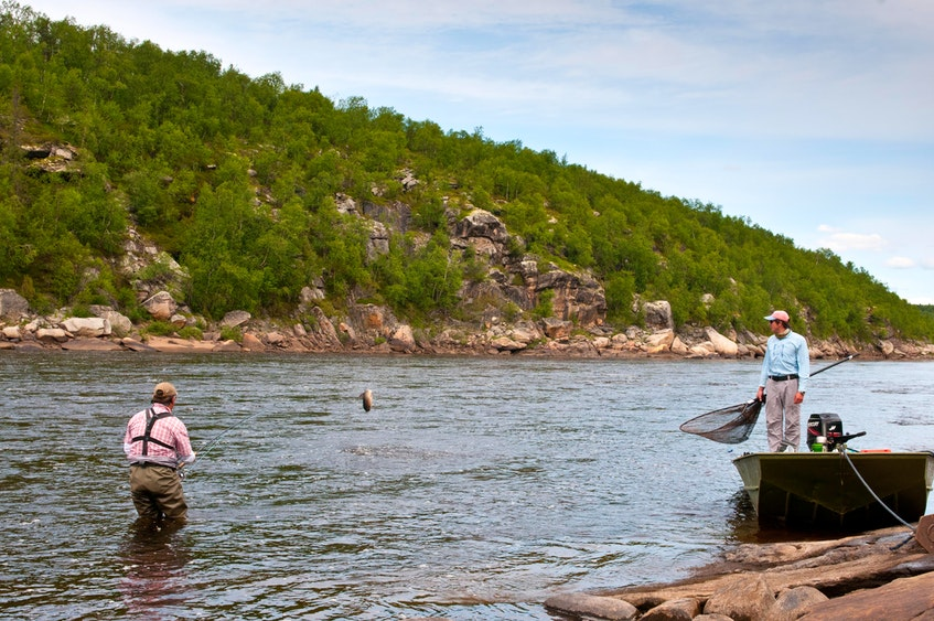 Russia's Ponoi River.  Russia is a member of the North Atlantic Salmon Conservation Organization (NASCO). — File photo