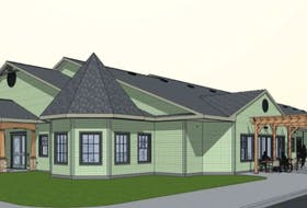 This conceptual drawing shows what the new palliative care residence will look like when it is completed in mid-July. The campaign to build the $5.6-million facility is spearheaded by the Hospice Palliative Care Society of Cape Breton. The building is located on the Membertou First Nation which donated $1.2 million worth of land and onsite services for the project. CONTRIBUTED