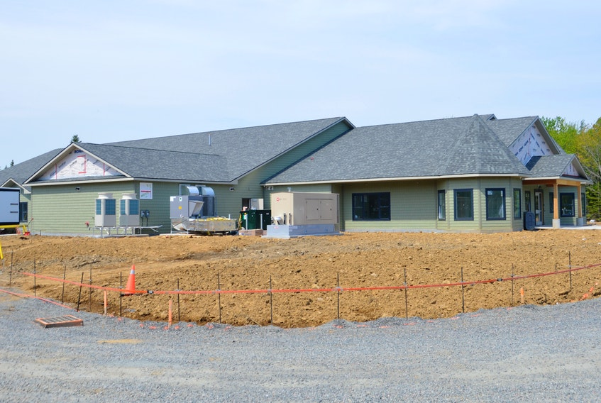 Cape Breton's new hospice palliative care facility is still under construction but is expected to be completed by mid-July. DAVID JALA/CAPE BRETON POST - David Jala
