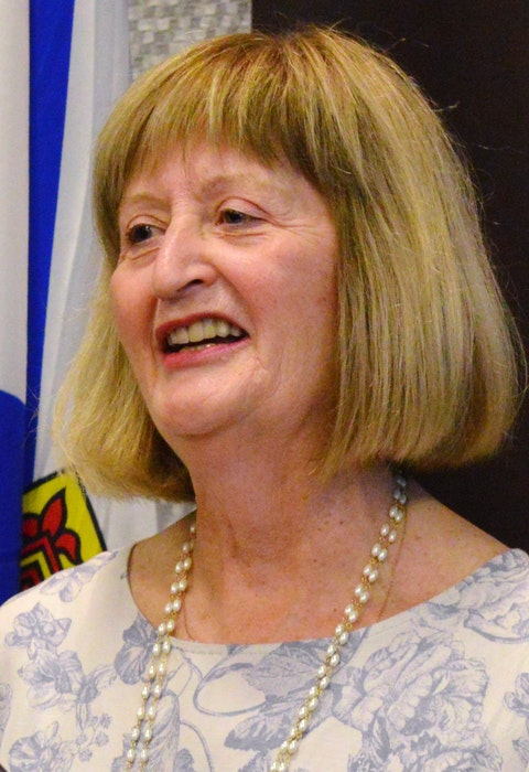 Irene Khattar is the co-chair of the Hospice Palliative Care Society of Cape Breton - Contributed