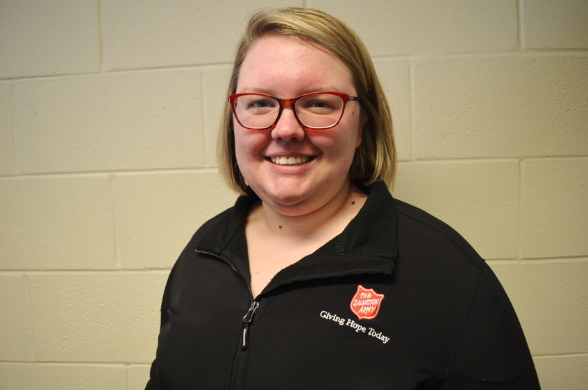 Lt. Emily Newbury, executive director of the Salvation Army in Charlottetown, said the Community Outreach Centre is grateful to have much more space to work with now that it has moved into the former Charlottetown Curling Club. - Dave Stewart/The Guardian