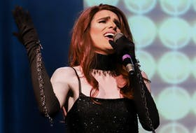 Jake Chisholm performs in Jake and Shaun's Big Gay Affair, the first-ever drag queen show performed in New Glasgow.