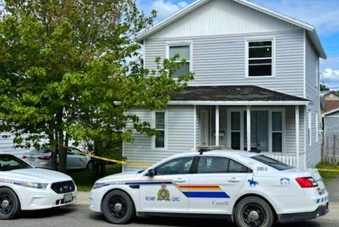 This home on Monchy Road in Grand Falls-Windsor was the site of a fatal shooting involving a member of the Grand Falls-Windsor RCMP.