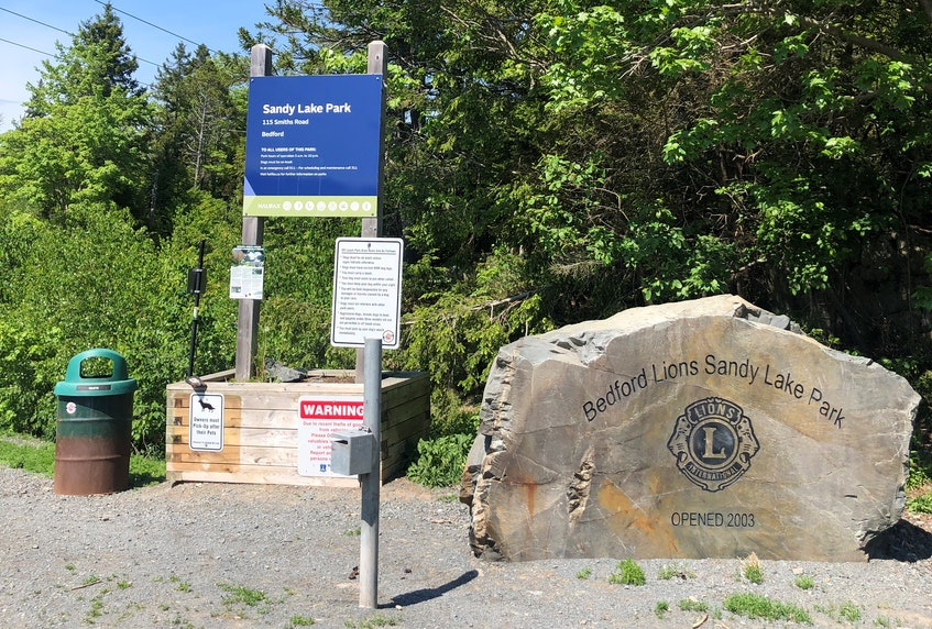 There are multiple options for hiking from the first parking lot entrance. There is also a second lot, which is closer to the beach. - Heather Fegan