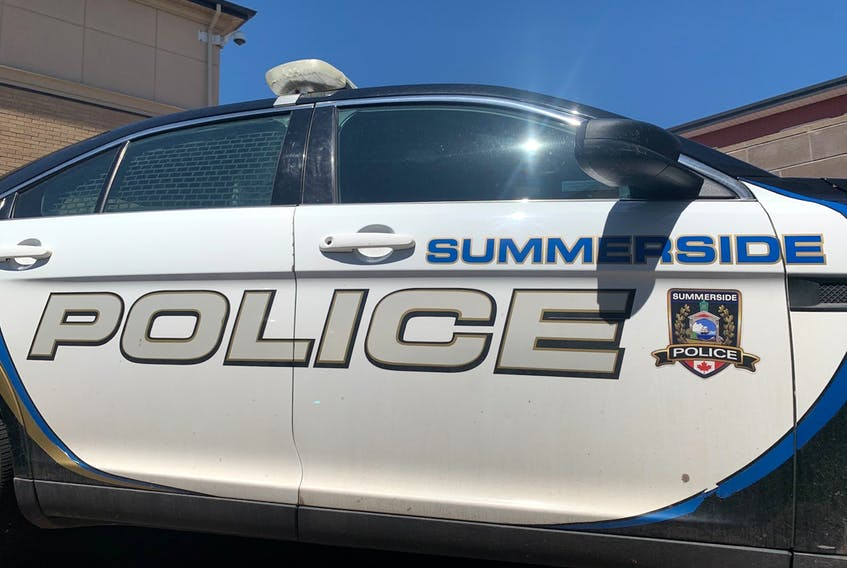 Summerside police said officers responded to the break-in report just after noon Thursday.