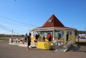 Sunny's Dairy Bar in Summerside, where in April, someone – likely inspired by the recent anonymous purchases of ice cream – also bought 101 ice cream cones.