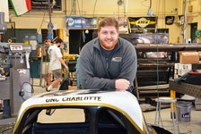 Spencer Nichols of Morristown, Kings County, is about to complete a Bachelor of Engineering degree from the University of North Carolina at Charlotte. The senior in the Mechanical Engineering Motorsport program plans to enter UNC Charlotte's Mechanical Engineering Ph.D. program in the fall. - Contributed
