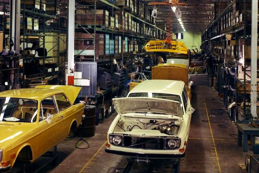 Volvo had an assembly plant in Halifax from 1963 to 1998. Photo via Reddit  - POSTMEDIA
