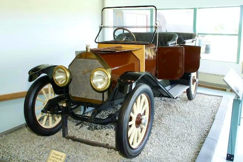 McKay Touring Cars, produced in Nova Scotia in the early 1900s, marketed as luxury vehicles and priced accordingly. Contributed - POSTMEDIA