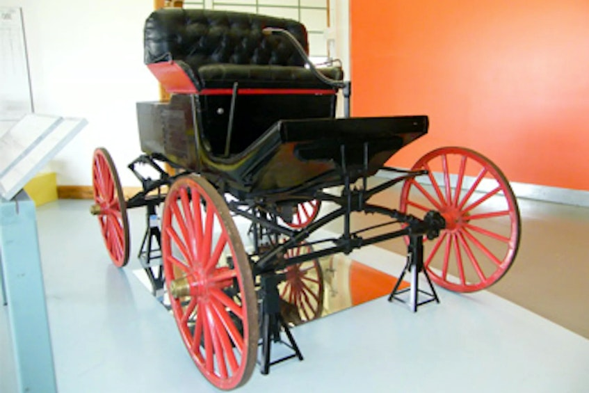 The Victoria Horseless Carriage is known as the first gasoline-powered car ever built in the Maritimes. Museum of Industry photo - POSTMEDIA