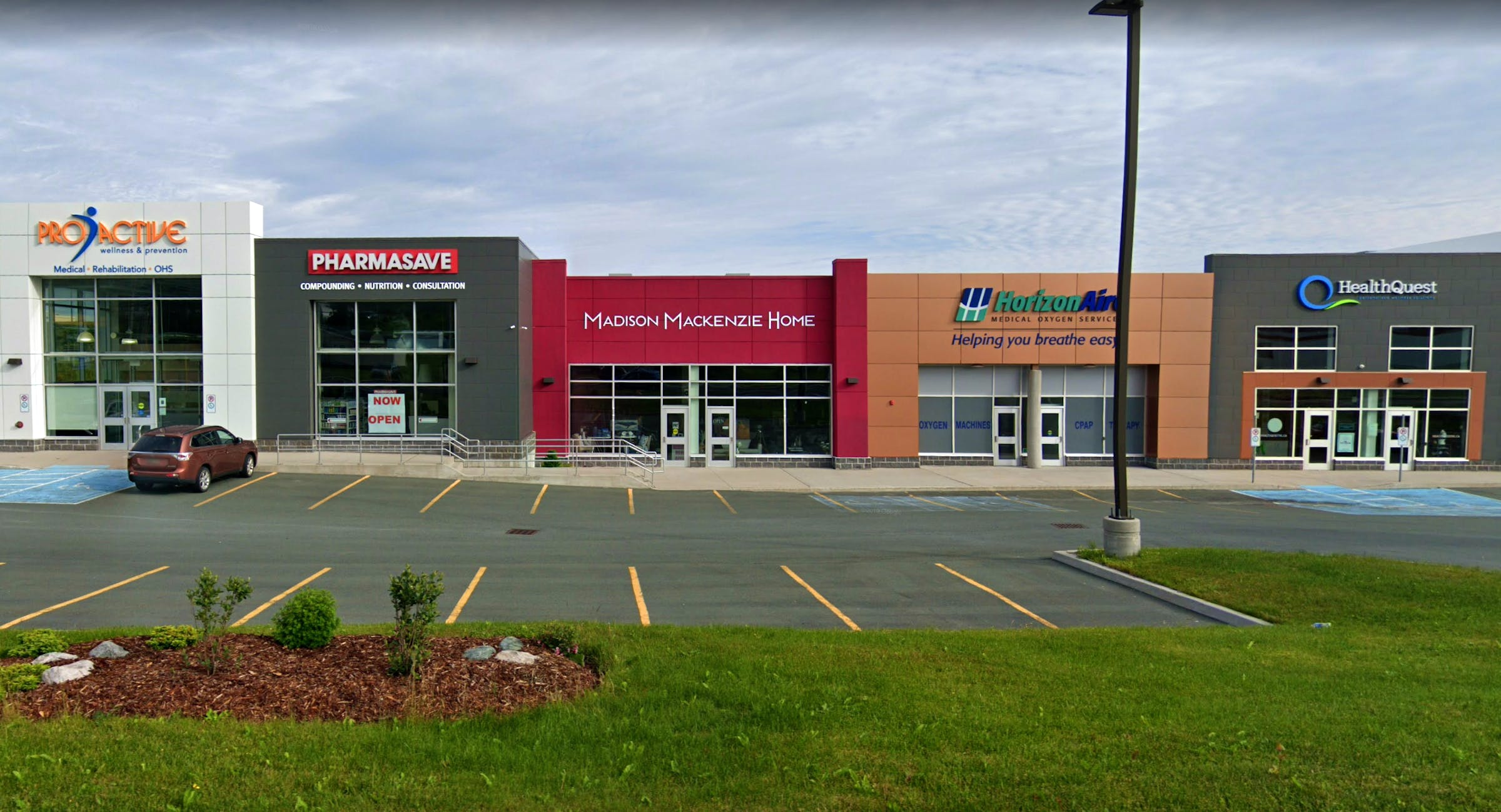 ProActive Wellness and HaelthQuest share space in the same Kenmount Road business complex in St. John's. As the result of a recently announced agreement, they'll share more than that. — Google Maps