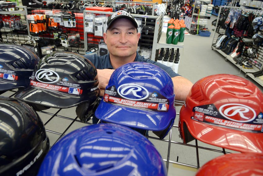 Play It Again Sports co-owner Jarrod Thomas for Andrew Robinson story.  Keith Gosse/The Telegram