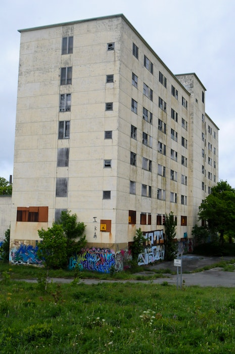 The former nurses residence on the old Grace General Hospital property on LeMarchant Road still remains standing. The former hospital was demolished a number of years ago. — Joe Gibbons/The Telegram