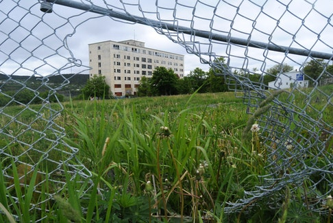 The former Grace Hospital site has been the target of vandalism and illegal dumping for two decades.  -Joe Gibbons/The Telegram