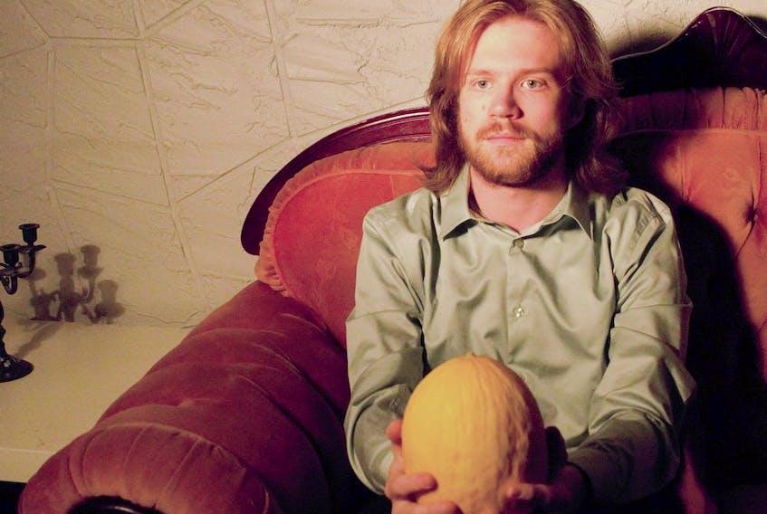Calgary artist Celogen, aka Dominic Demierre. Photo courtesy, Eric Alper.