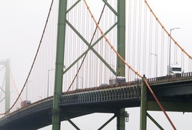 Photo of the MacKay Bridge, for story on the commission overseeing the two land bridges asking the URAB for a hike in the toll rate.