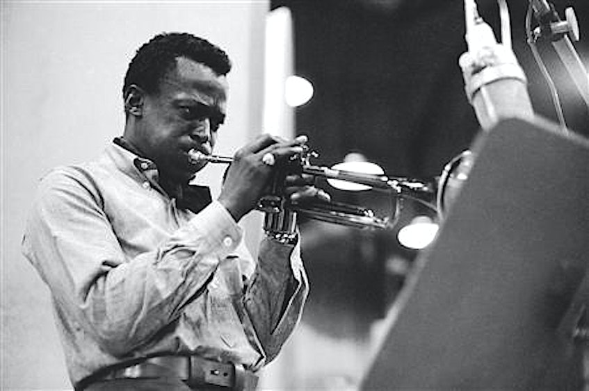 If Ian Sutherland had his way, Miles Davis (above) and Bjork (below) would be jamming with Beethoven at his dream dinner party. — Reuters file photos