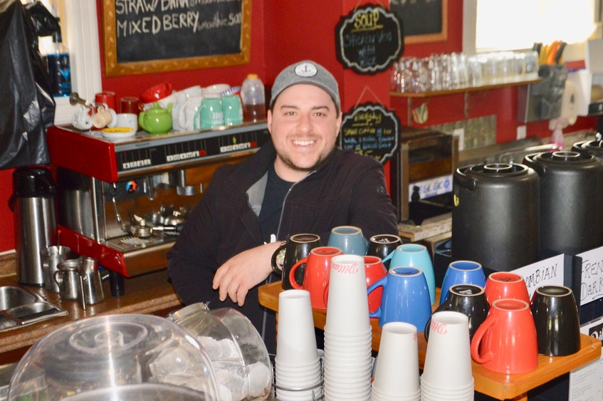 Dillan MacNeil is looking forward to the day when he reopens Dillan's at Wentworth. The Sydney restaurateur also owns and operates Dillan's on Townsend which has remained open during the latest lockdown as a takeout eatery. DAVID JALA/CAPE BRETON  - David Jala
