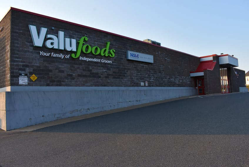 The community's grocery store is among the businesses impacted by news that evictions will be required as of June 18 if the Basinview Centre must be vacated due to a lack of insurance coverage. – Ashley Thompson