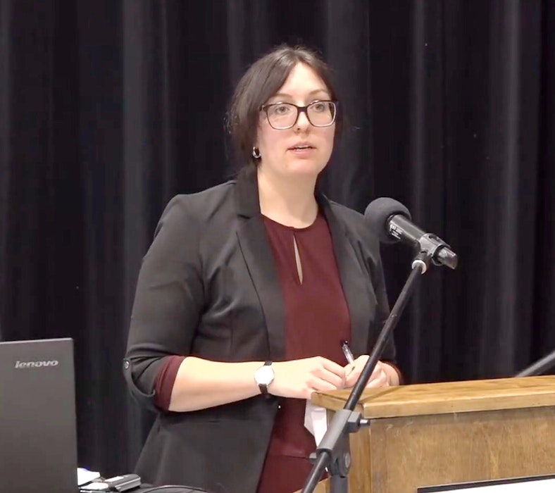 CBRM planner Kristen Knudskov initially recommended that council allow the rezoning for an area of land in the Upper Prince Street, Sydney area. CONTRIBUTED • CBRM