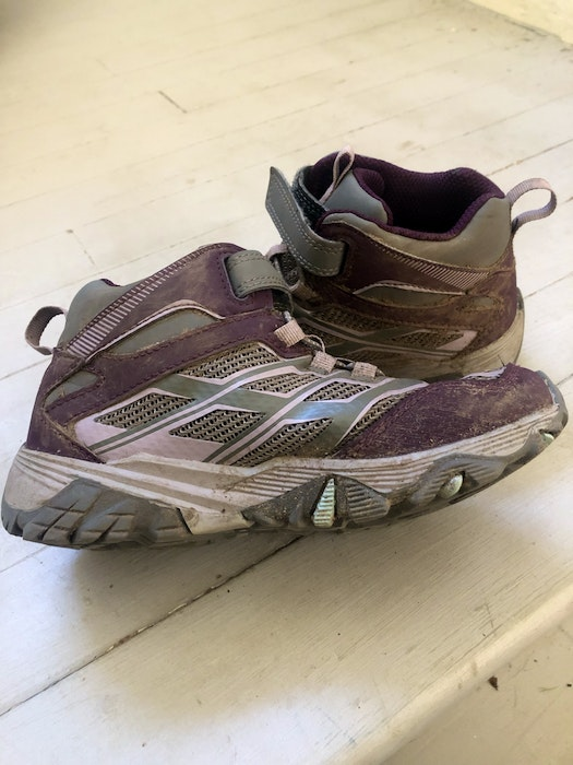 Waterproof hiking shoes with a grip are your best bet when it comes to footwear, says Heather Fegan.
