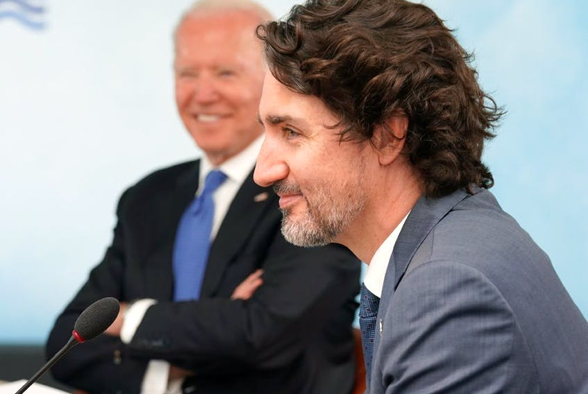 Prime Minister Justin Trudeau at the G7 Summit. It isn't clear  that Team Trudeau has done much to get over its anti-business streak.