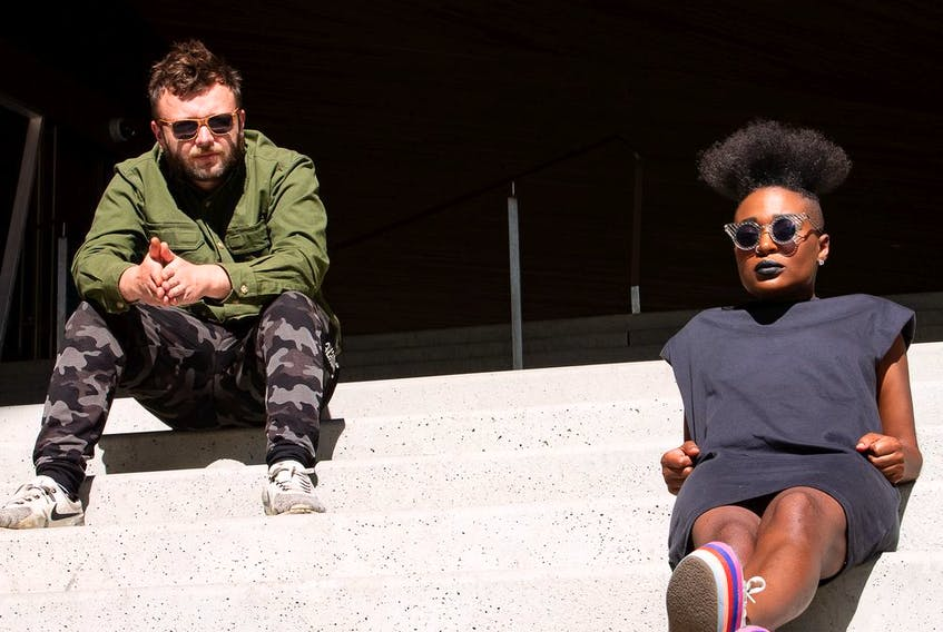 Evgeniy Bykovets and Yolanda Sargeant make up the duo Sargeant X Comrade. Photo by Brandon Deurbrouck