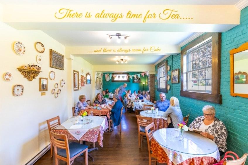 Birkinshaw's Tea Room (2 Ratchford St. in Amherst) - Photo Courtesy Tourism Nova Scotia