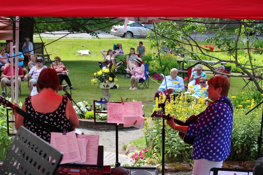 Cumberland County Museum & Archives (150 Church St.) plans to host more events this summer, like this Farmers' Market with live music. - Photo Contributed.