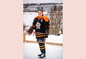 Anna Barrington, 17, of St. John's, will join the NCAA's Mercyhurst College women's hockey squad next season in Erie, Penn.