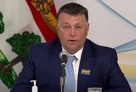 P.E.I. Premier Dennis King discusses reopening plans and testing at border during a briefing on June 15, 2021.