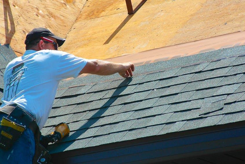 Underlay, shingle choice and installation skills are the three factors behind any success asphalt re-shingling job.
