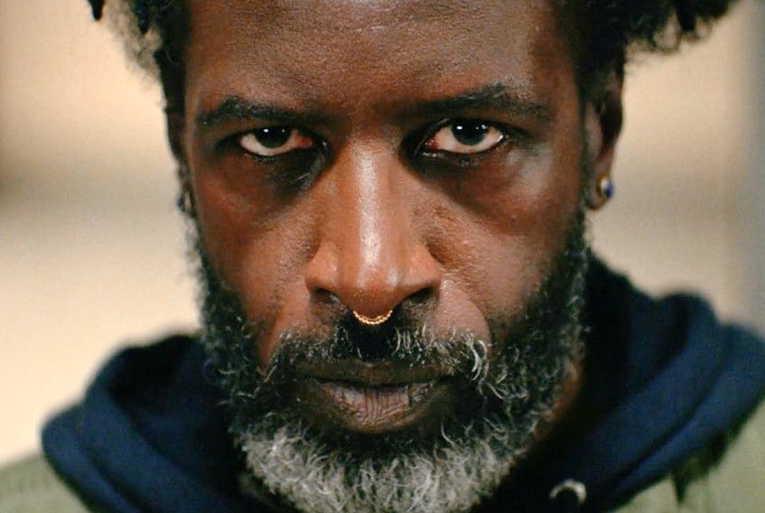 Not a man to be trifled with: Saul Williams in Akilla's Escape.