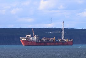 The Terra Nova FPSO, shown in a file photo, is currently at anchor at Bull Arm awaiting a decision on the future of the Terra Nova offshore oilfield and whether the vessel will be retrofitted to continue capturing the remaining reserves in the field. Telegram file photo