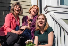 """Mauralea Austin (from left), Christy MacRae-Ziss and Hannah Ziss are among the cast members of Theatre Baddeck's production of """"Where You Are,"""" running Sept. 2-25, 2021. - Photo Contributed."""