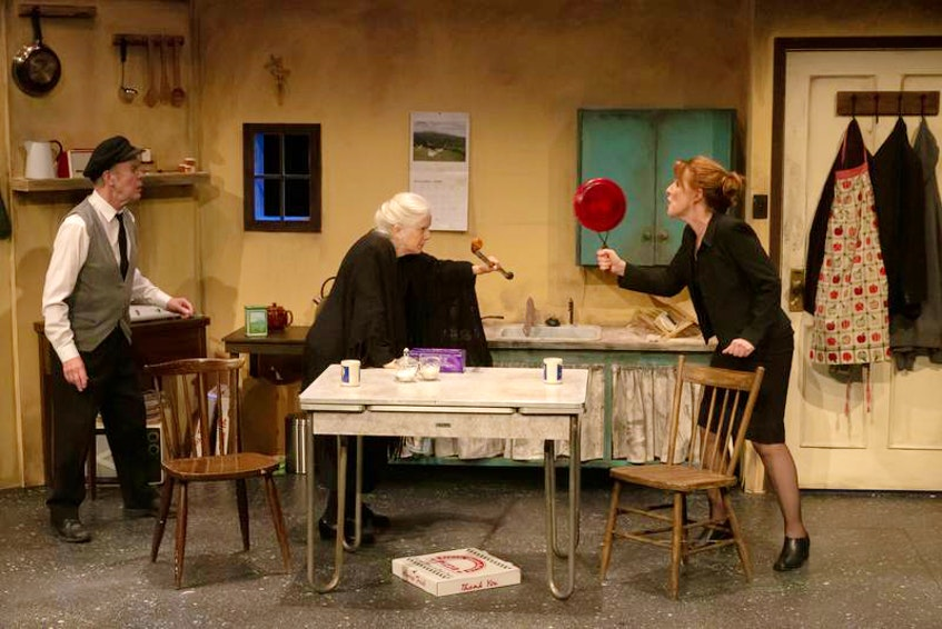 """Theatre Baddeck's first show of the 2021 season will be """"Outside Mullingar"""" by John Patrick Shanley. The Tony Award-nominated play follows two middle-aged, introverted neighbours living in rural Ireland whose families are engaged in a land feud. - Photo Contributed."""