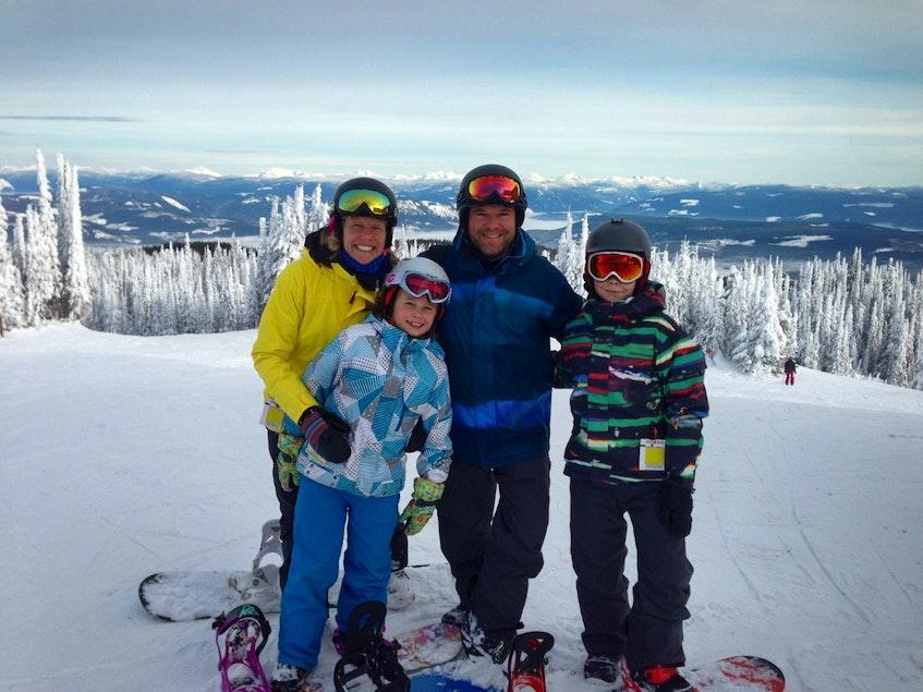The Matthews family. - Family photo