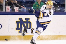 Alex Steeves led the University of Notre Dame du Lac Fighting Irish, in the NCAA, in points during the 2020-21 season. In March, he signed a contract with the Toronto Maple Leafs.