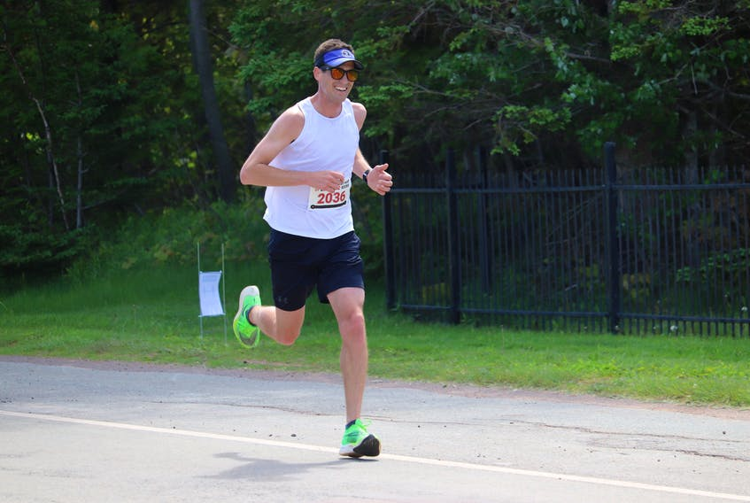 Stanley Chaisson won the Points East Lighthouse Run/Relay Saturday, June 12, in 1:45:29.