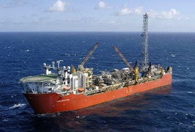 If the tentative restructuring agreement announced Wednesday is concluded, it would mean the Terra Nova floating production and storage (FPSO), currently tied up at Bull Arm, will be back working the Newfoundland and Labrador oiffshore, with sanctioning for a resumption of production comning this fall. — Postmedia file photo/via Suncor