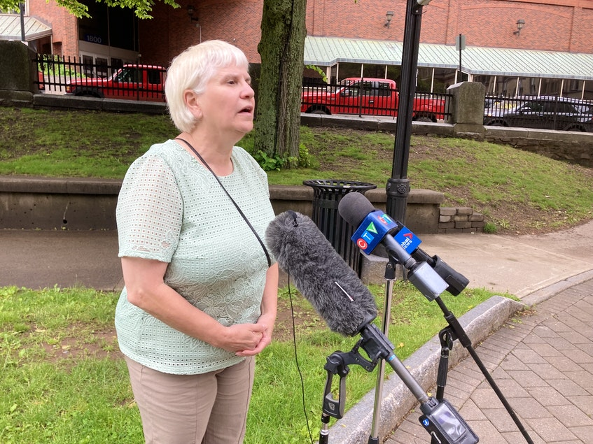 Julie Towers, deputy minister of the provincial Environment Department, said Wednesday, June 16, that the department has completed its water tests on Grand Lake. - Francis Campbell