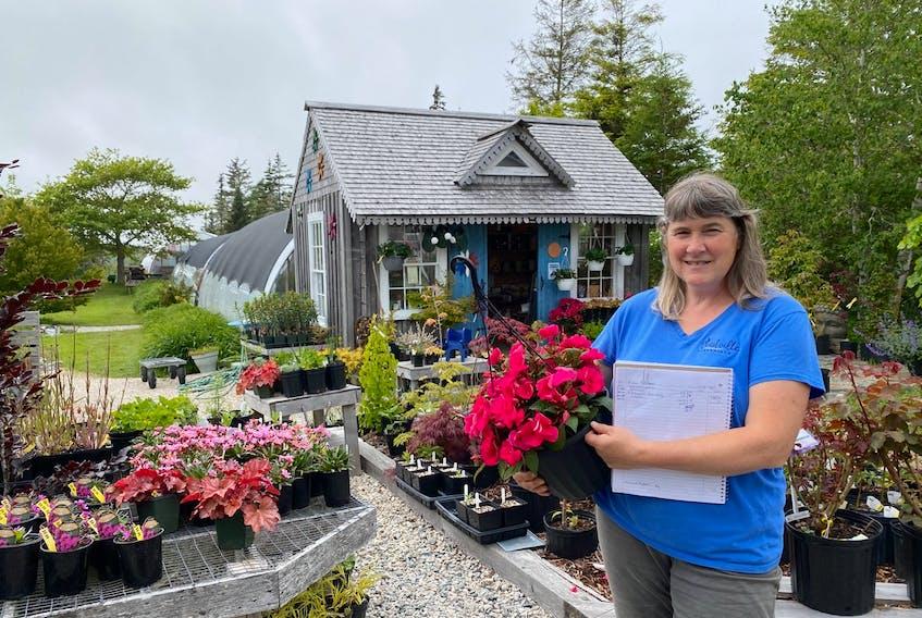 Alice d'Entremont opened her nursery Ouestville Perennials in 1994. CARLA ALLEN • TRICOUNTY VANGUARD