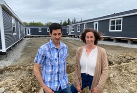 Adam D'Eon and his sister Monique are working towards the establishment of a pocket community on Frank's Road in West Pubnico. CARLA ALLEN • TRICOUNTY VANGUARD