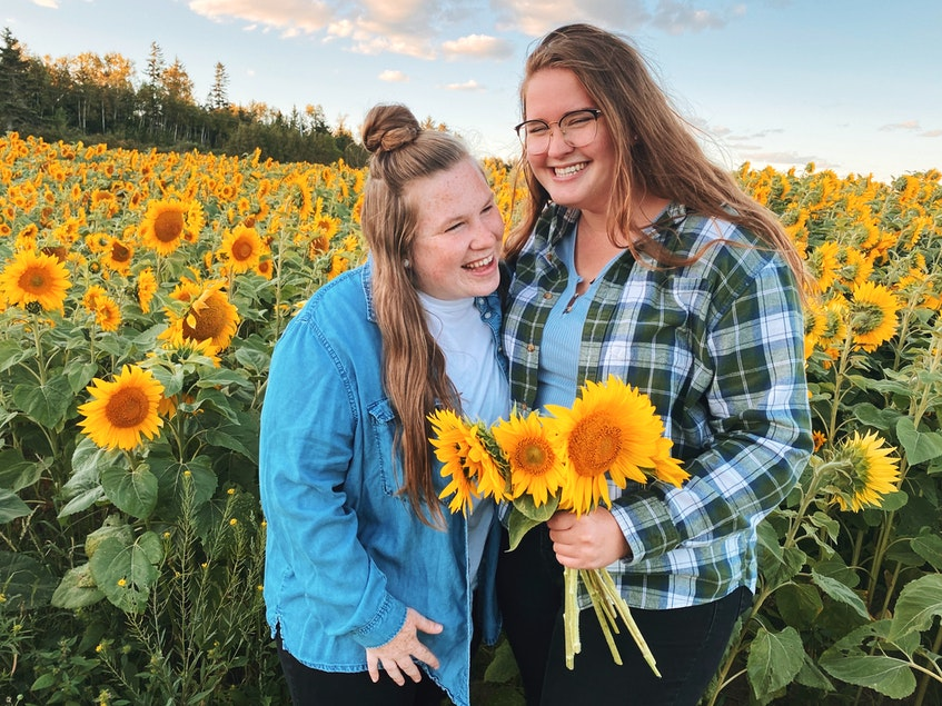 Katie Cadman, left, and Kerena Mackay say they believe there's been an overall change in the attitude towards LGTBQ+ couples in Atlantic Canada. - Contributed