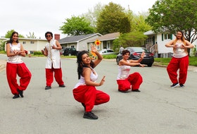 Dance group Bollywood Jig was started in 2004 by Bangladesh-born Sanchita Chakraborty after she moved from India to St. John's and fell in love with the province. From left to right: Rubthika Hubert, Annaay Antony, Ananya Antony, Sanchita Chakraborty and Tarannum Ahmed Oyshee.