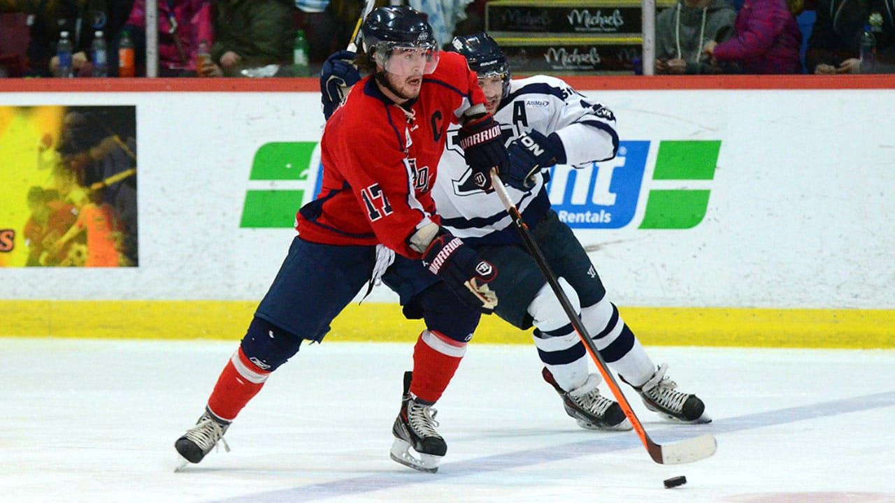 Former Acadia Axemen captain Liam Heelis has been hired by the Halifax Mooseheads as an assistant captain. - USPORTS PHOTO