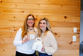 Carol Drohan (left) and Nicole Drohan are the mother-daughter team behind Whisk It Up! Baking Kits. The two are offering baking kits in support of Hospice Cape Breton.
